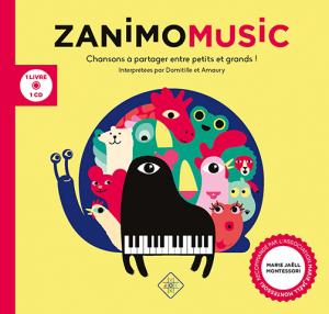 Album Zanimomusic - JOYVOX en partenarait avec l'Association Marie Jaëll Montessori